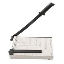 广博 广博(GuangBo)300*250mm(可切A4纸)钢质切纸刀裁纸刀裁纸机QZD9214S 300*250mm-钢质(可切A4纸)