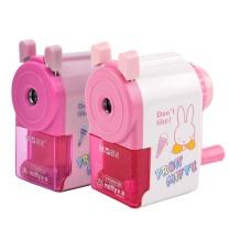晨光 M&G 晨光(M&G)文具粉色卡通削笔器学生削笔机卷笔刀 单个装新老包装随机发货FPS90610 圆头粉