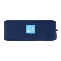 晨光 M&G 晨光(M&G)calm down蓝色笔袋方形学生收纳袋 APBN3673 蓝色