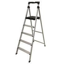 稳耐 稳耐 werner 五美梯折叠梯铝合金梯子五步登高梯爬梯1.7m×0.58m×0.12m防滑宽踏板梯子 五步梯 1.65米