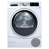 博世 BOSCH 博世(BOSCH) 9公斤 智能滚筒干衣机 原装进口 全触摸 静音除菌 热泵 家居互联(白色)WTU879H00W 进口9公斤智能热泵干衣机