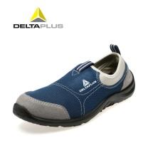 代尔塔 DEITAPLUS 代尔塔(Deltaplus)劳保鞋 透气轻便防砸防刺穿防静电 301216 蓝色/灰色 40 蓝色/灰色