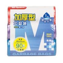 晨光 M&G 晨光(M&G)45*55cm/3卷加厚混色点断式清洁袋垃圾袋 90只装ALJ99409 45*55cm 90只 混色