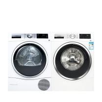 博世 BOSCH 博世(BOSCH)10公斤洗+9公斤干 洗干套装 WAU28560HW+WTU879H00W 智能滚筒洗衣机 深度自清洁进口智能干衣机 智能款#6系洗10+6系干9