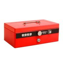 信发 信发(TRNFA)益而高(EAGLE)8868 特大型手提金库 钱箱 密码保险箱 红色 益而高8868 钱箱(红色)