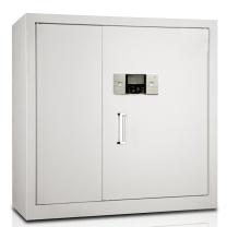 保险柜 全能文件柜 带锁办公家用密码保险储物资料箱柜 WJG90 (无抽) 高90CM 规格(90CM高 无抽)