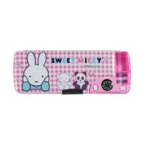 晨光 M&G 晨光(M&G)文具米菲系列粉色多功能双层笔盒文具盒 单个装FSB90299 米菲粉