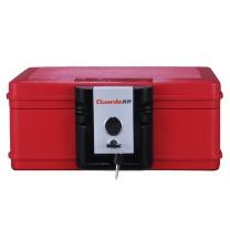 盾牌 Guarda 盾牌(Guarda)2013CR保险箱防火防水防锈保管箱美国UL350级半个小时认证手提式小型保险柜 时尚红色