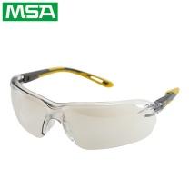 梅思安 MSA 梅思安 /MSA 10167733 炫酷防护眼镜 烟灰色镜片 黄灰镜脚 镜片角度可自由调整 1副 10167733(黄灰)