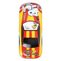 晨光 M&G 晨光(M&G)文具史努比系列红色汽车造型双层铁笔盒文具盒 单个装SSB90245 史努比红