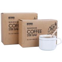 唐宗筷 一次性咖啡搅拌棒 木质咖啡调棒 14cm 500支 C6655