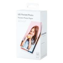 LG LG趣拍得 拍照式口袋打印机 专用原装相纸 拍立得 PT3013 36张/盒