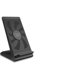 南孚 NANFU 南孚(NANFU)苹果X无线充电器 适用于iPhoneXS/Xs Max/XR/8/8plus三星手机立式支架7.5W快充 风冷黑色