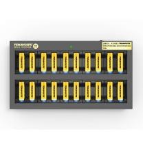南孚 NANFU 南孚(NANFU)5号充电锂电池20粒+充电器套装 1.5V TENAVOLTS 适用于KTV无线麦克风 AA五号 KTV专用充电锂电池20粒套装