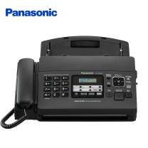碳带传真机 松下(Panasonic)KX-FP7009CN 普通纸传真机(黑色) FP7009CN黑色中文显示