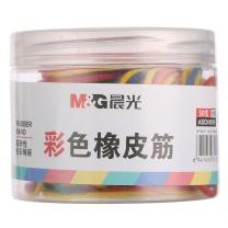 晨光 M&G 晨光(M&G)文具50g筒装彩色耐磨橡皮筋橡胶圈牛皮筋ASCN9519