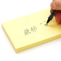 欧标 欧标(MATE-IST)便签纸 便利签 留言纸 N次贴便签 125*76mm 100张 黄色A1105 125*76大号100张