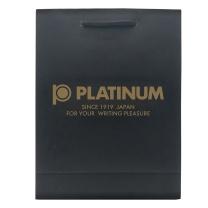 白金 PLATINUM 白金(Platinum)笔手提黑色袋 纸质