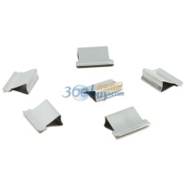 齐心 Comix 齐心(COMIX)B3397 推夹器夹纸器补充夹子 50个/盒 铁夹子