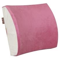 卡文 KAWEN 卡文(KAWEN) 记忆棉腰靠 护腰垫 靠垫枕 汽车腰靠 车用 办公室舒适产品玫红 玫红