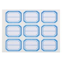 晨光 M&G 晨光(M&G)文具蓝色25*34mm/90枚自粘性标签标贴不干胶标签贴纸 9枚/张YT-12