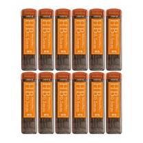 晨光 M&G 晨光(M&G)HB 0.5mm树脂铅芯学生考试自动铅笔芯 12个/盒ASL60011 HB 0.5 12支