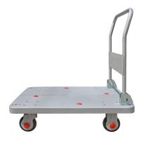 连和 连和(uni-silent)PLA150-DX(灰)超静搬运车手推车拉货车平板拖车720*490MM承载150KG